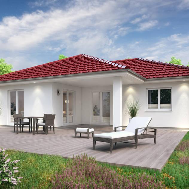 Casas unifamiliares de estilo  por RostoW Bau