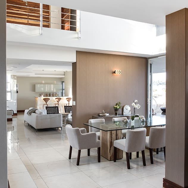 Residence Naidoo FRANCOIS MARAIS ARCHITECTS Modern dining room
