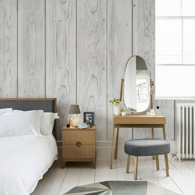 White boards Scandinavian style bedroom by Pixers Scandinavian