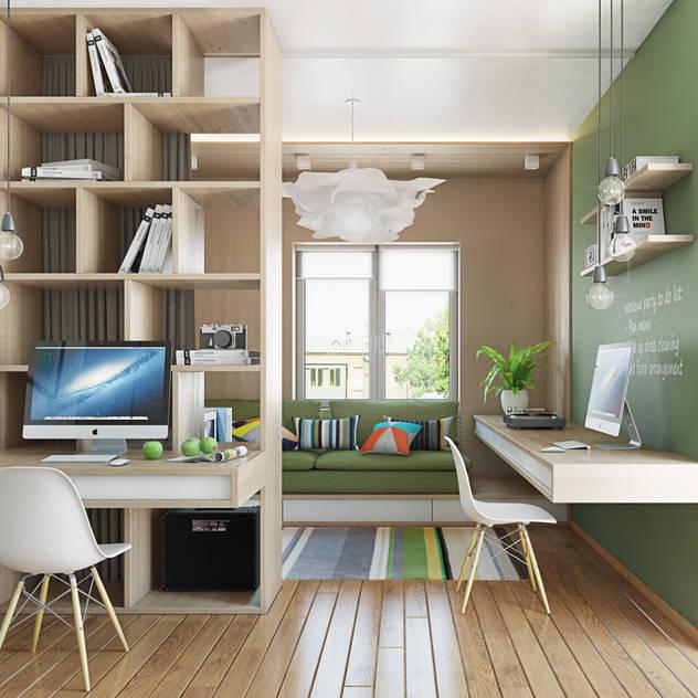 Estudios y biblioteca de estilo  por Polygon arch&des