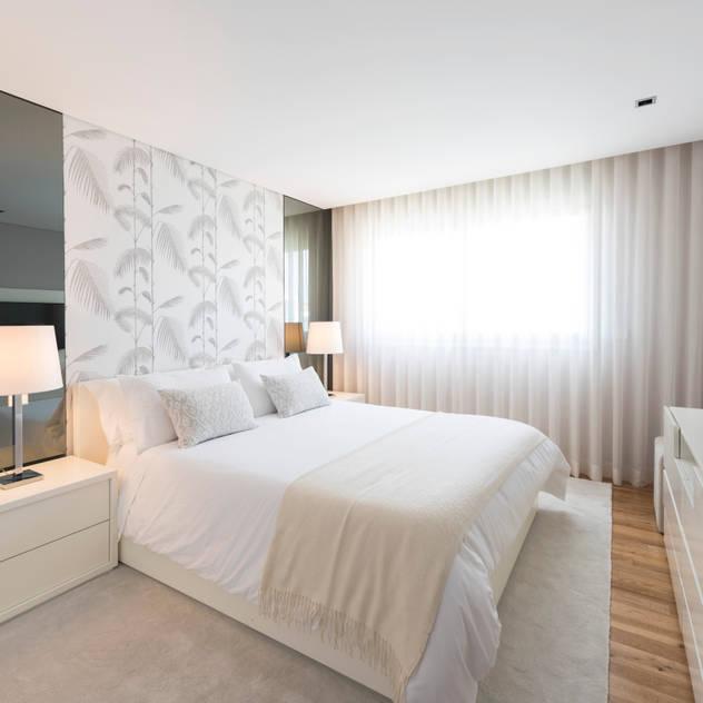 Dormitorios de estilo moderno por Filipa Cunha Interiores