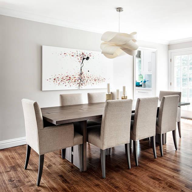 Dining Rooms & Breakfast Nooks Clean Design Modern Dining Room