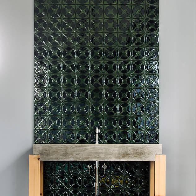 Sink detail bởi Arkstudio Mộc mạc Gạch ốp lát
