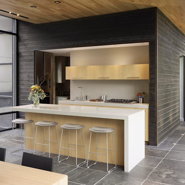 Dangle Byrd House, Koko Architecture + Design Koko Architecture + Design Modern Kitchen