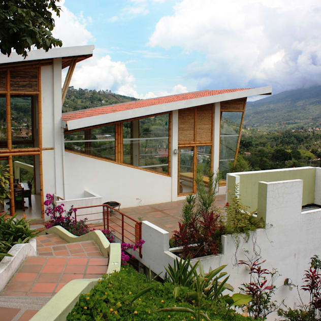 Liat Cantiknya Desain Rumah Ala Pedesaan Ini Bikin Kangen Kampung Halaman Diadona Id