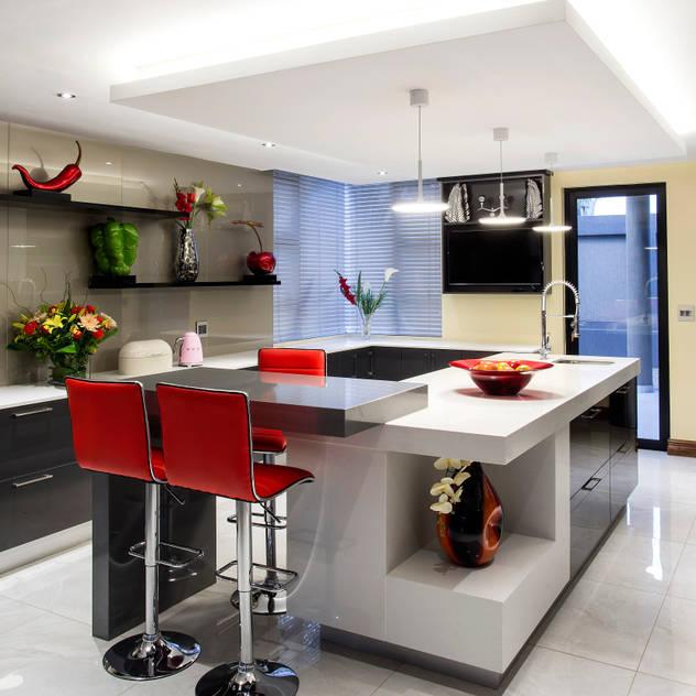 Residence Harris FRANCOIS MARAIS ARCHITECTS Modern kitchen