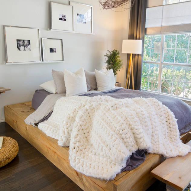 Phòng ngủ phong cách Bắc Âu bởi Urbanology Designs Bắc Âu