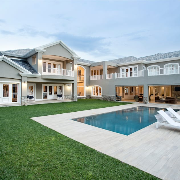 Modern Colonial FRANCOIS MARAIS ARCHITECTS Colonial style house