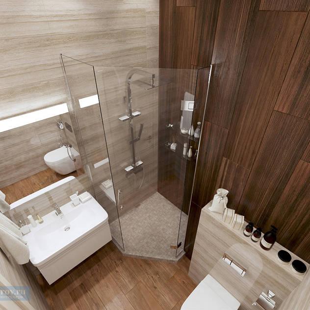 classic Bathroom by Студия интерьера Дениса Серова