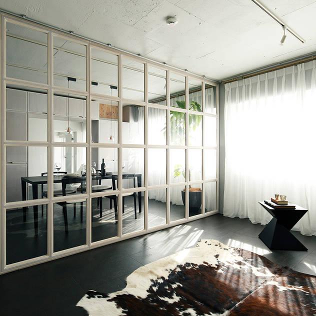 loftofloft モダンスタイルの寝室 の 松島潤平建築設計事務所 / JP architects モダン MDF