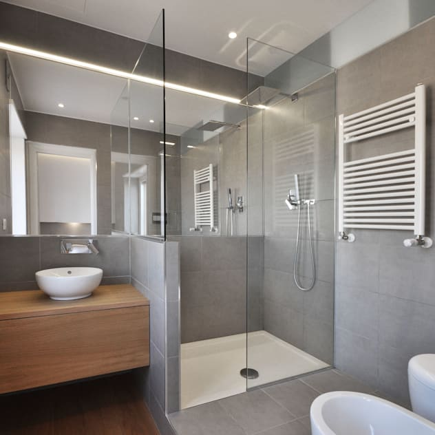 modern Bathroom by degma studio