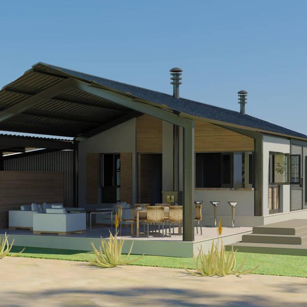 Steel Framed Home Edge Design Studio Architects Modern houses