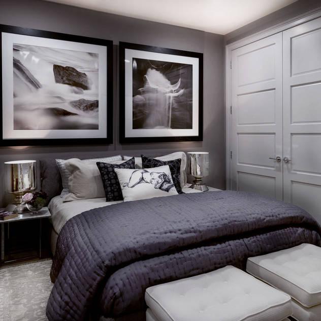 Bedroom - The Pearl Modern Bedroom by Joe Ginsberg Design Modern