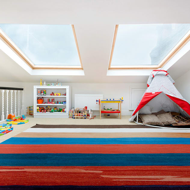 Netherton Grove Orchestrate Design and Build Ltd. Nursery/kid's room