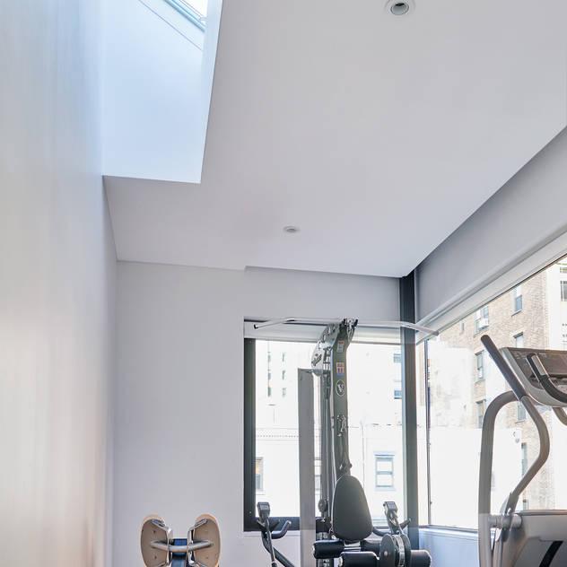 Park Slope Townhouse Modern Gym by Sarah Jefferys Design Modern