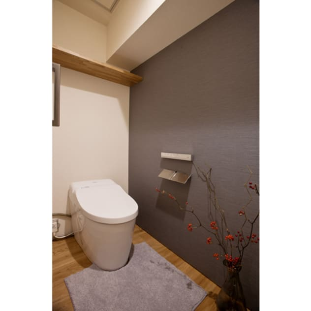 トイレ: nano Architectsが手掛けた浴室です。,