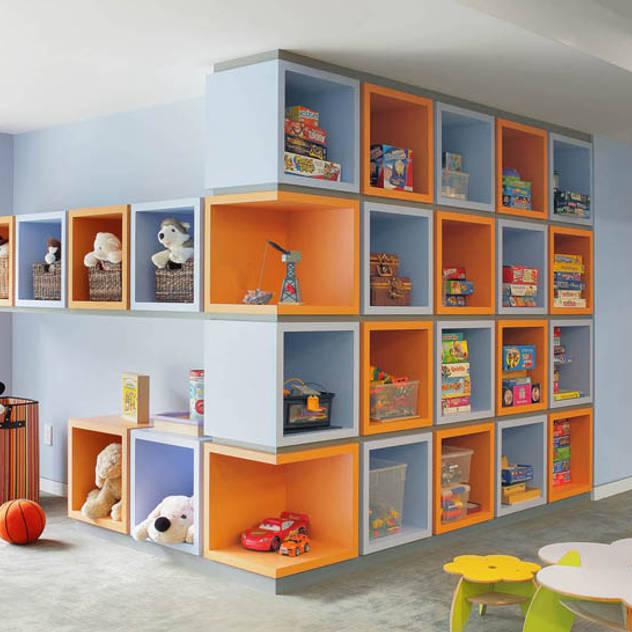 Basement Renovation - Ardsley House Modern Kid's Room by Eisner Design Modern