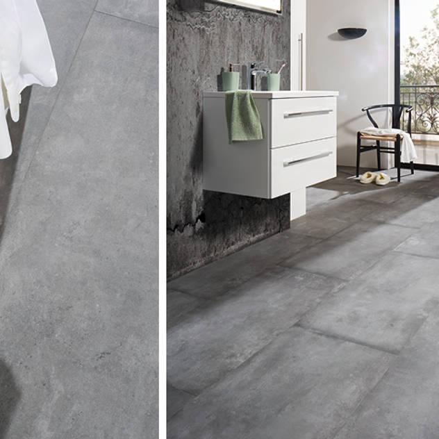 Mineraldesignboden JAVA ARTbeton grigio: moderne Badezimmer von KWG Wolfgang Gärtner GmbH
