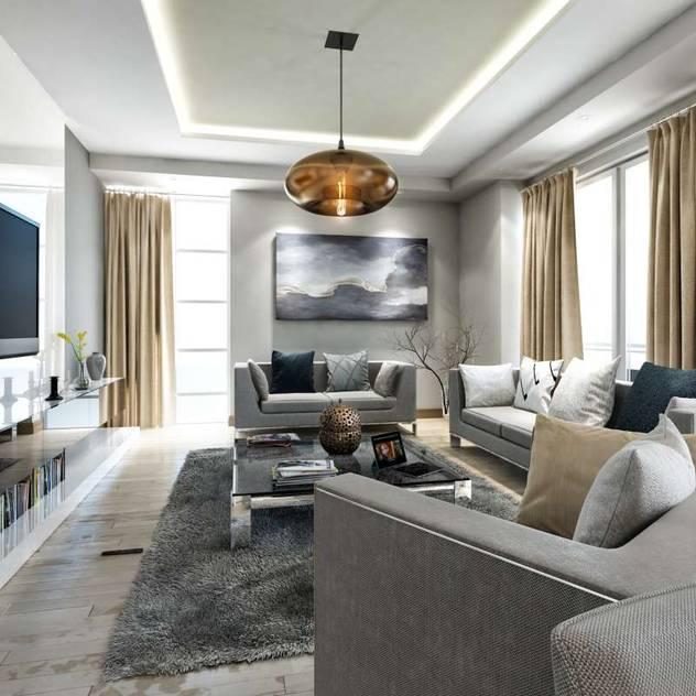 moderne Wohnzimmer von Vero Concept Architects