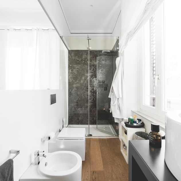 ห้องน้ำ by MODO Architettura