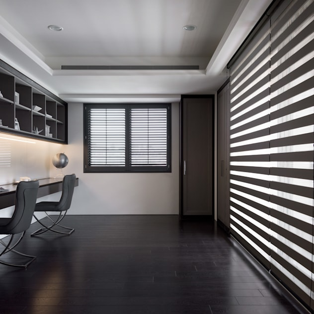 Phòng học/văn phòng phong cách hiện đại bởi 思為設計 SW Design Hiện đại