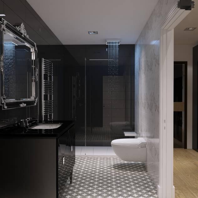 ห้องน้ำ by GN İÇ MİMARLIK OFİSİ