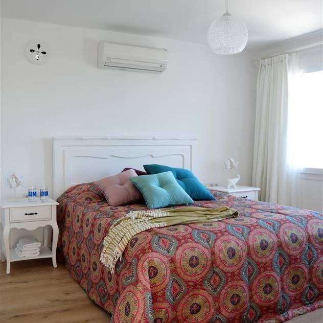 Ebru Erol Mimarlık Atölyesi – Ebru Erol Mimarlık Atölyesi: akdeniz tarzı tarz Yatak Odası