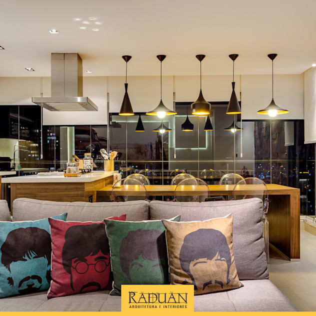 Terrazas de estilo de Raduan Arquitetura e Interiores