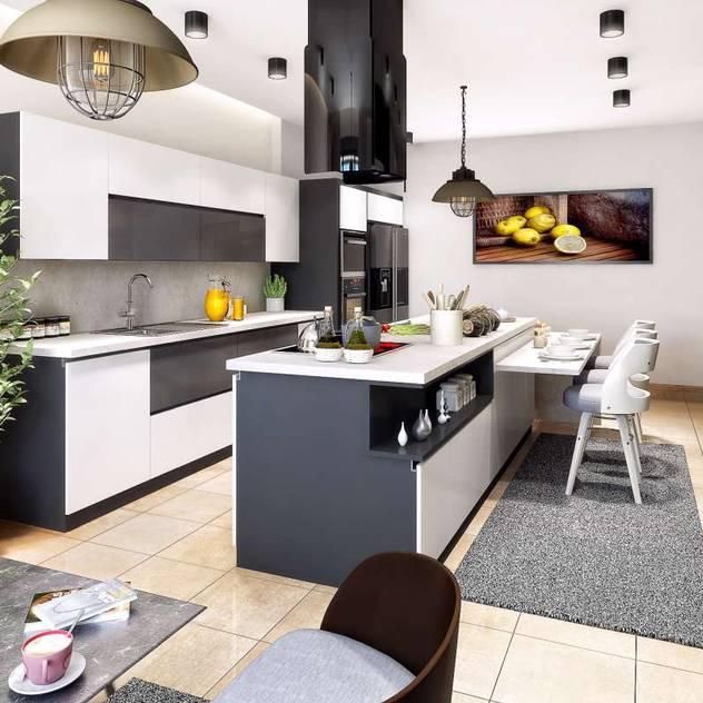 Cucina moderna di VERO CONCEPT MİMARLIK Moderno