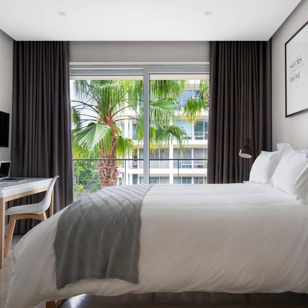 Phòng ngủ phong cách Bắc Âu bởi MINC DESIGN STUDIO Bắc Âu