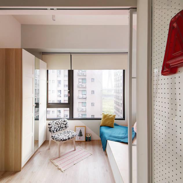 scandinavian Bedroom by 一葉藍朵設計家飾所 A Lentil Design