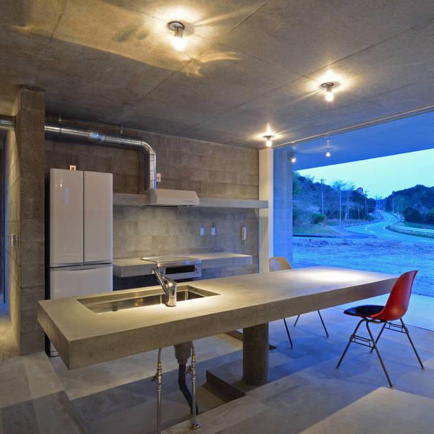 modern Kitchen by アトリエ環 建築設計事務所