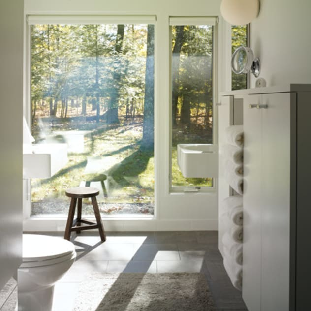 Bathroom by BILLINKOFF ARCHITECTURE PLLC