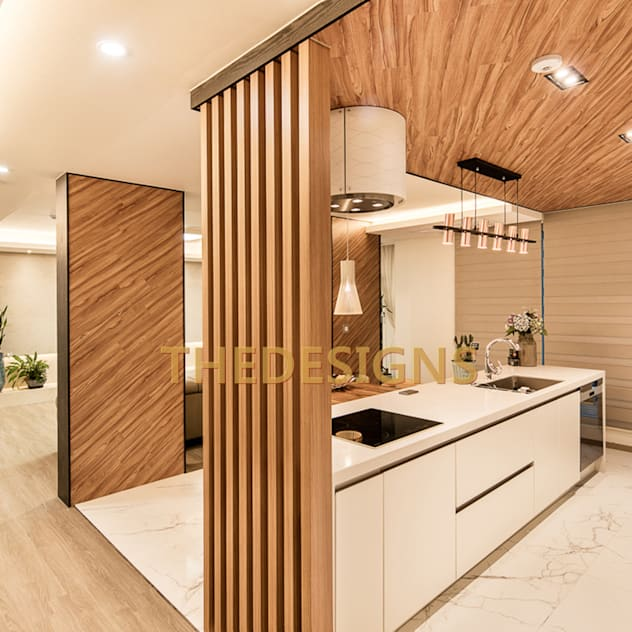 modern Kitchen by thedesigns