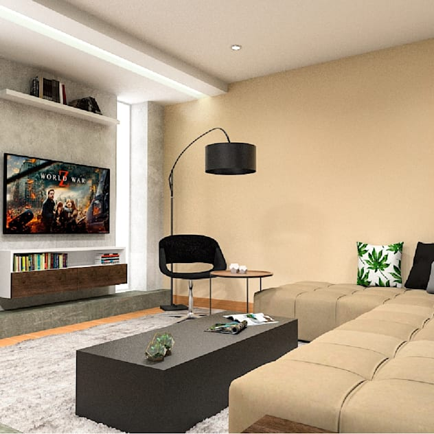 Kuro Design Studio Phòng giải trí phong cách hiện đại