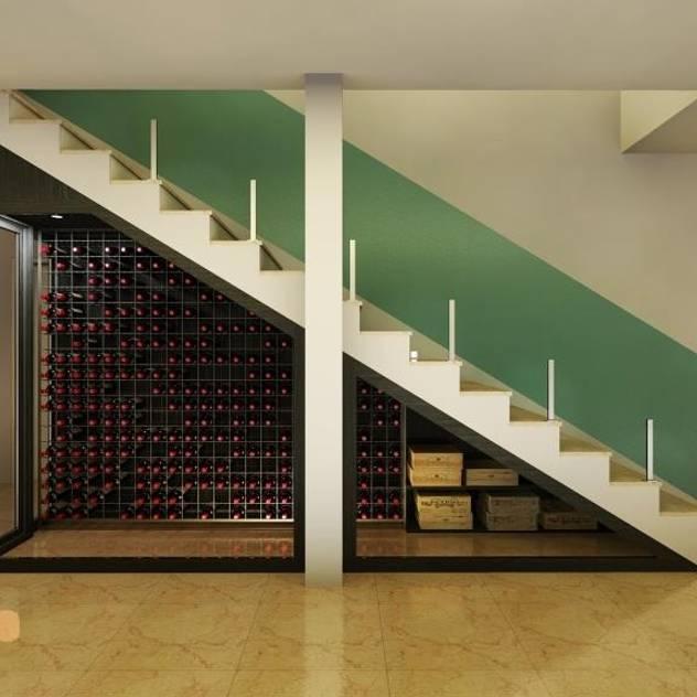 Hầm rượu phong cách hiện đại bởi EDR - Adegas Climatizadas Hiện đại Ly