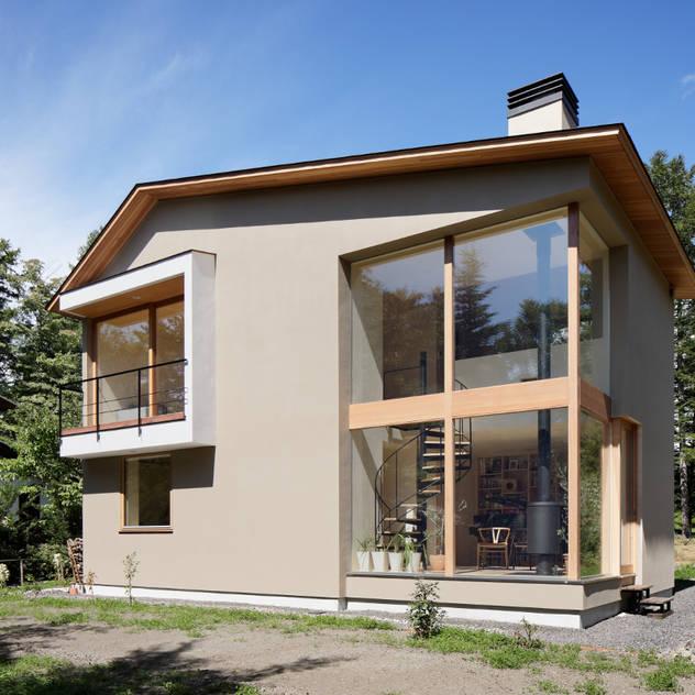 Nhà phong cách Bắc Âu bởi atelier137 ARCHITECTURAL DESIGN OFFICE Bắc Âu Gỗ Wood effect