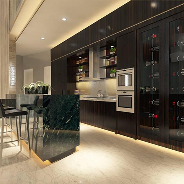 Hầm rượu phong cách hiện đại bởi Arci Design Studio Hiện đại
