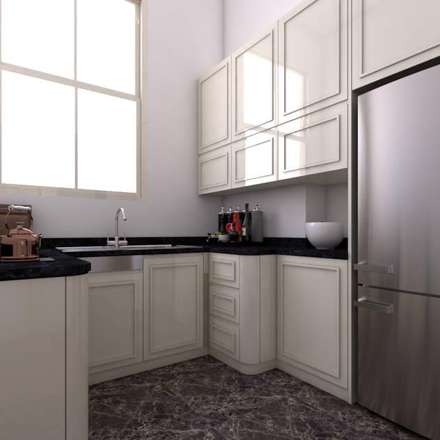 Cucina moderna di Two+architects Moderno