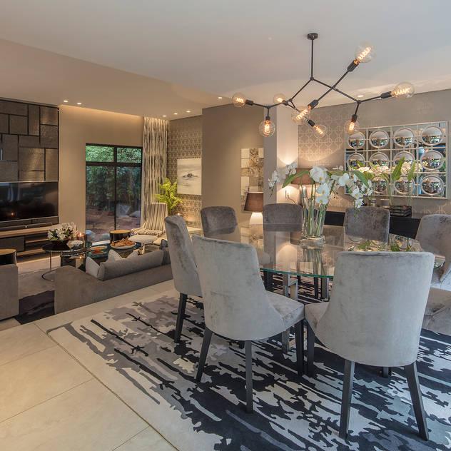 House Cunningham Spegash Interiors Modern Dining Room