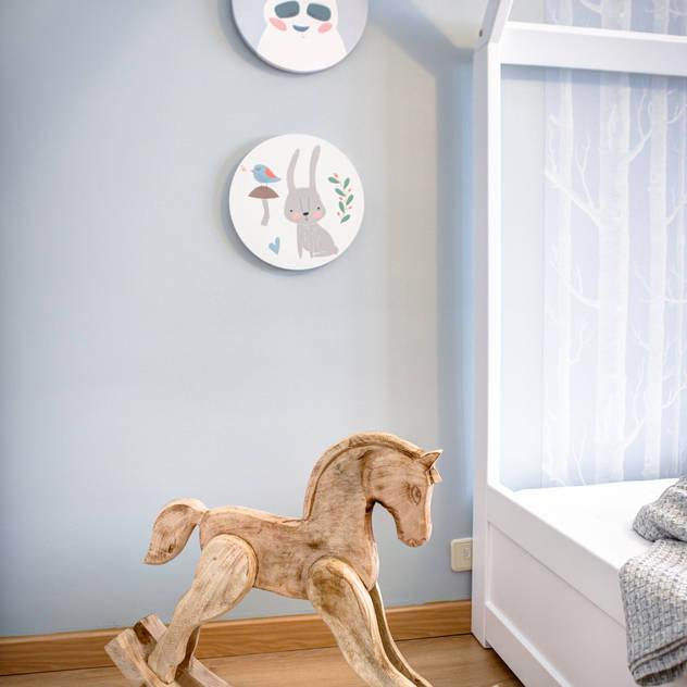 Phòng trẻ em phong cách Bắc Âu bởi Santiago | Interior Design Studio Bắc Âu