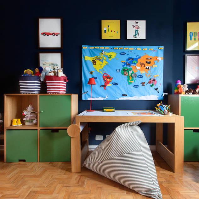 Kids: Quartos dos meninos por Pereira Reade Interiores