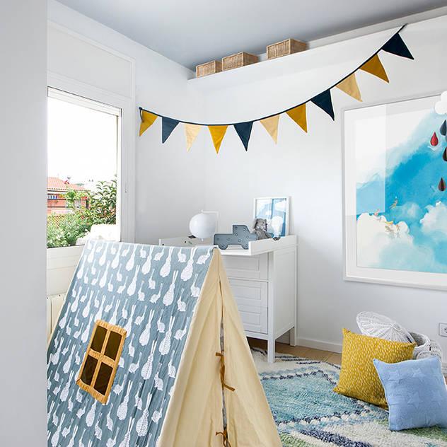 Phòng trẻ em phong cách Địa Trung Hải bởi Egue y Seta Địa Trung Hải