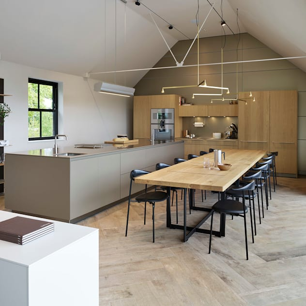 Cheshire Showroom Modern kitchen by Kitchen Architecture Modern
