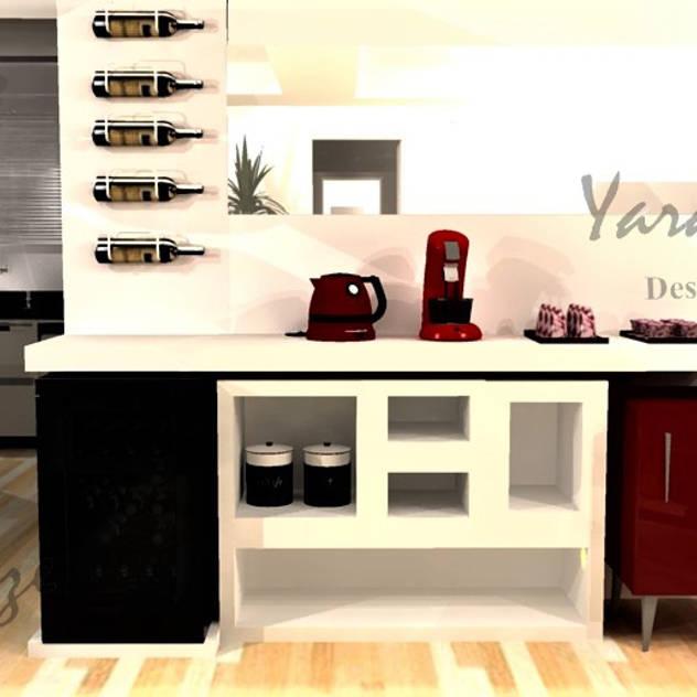 Hầm rượu phong cách hiện đại bởi Yara Interiores Hiện đại