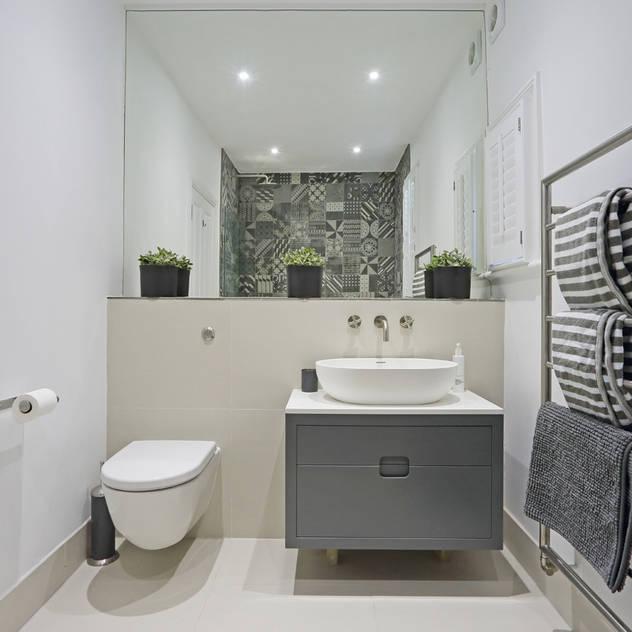 Casas de banho por PAD ARCHITECTS