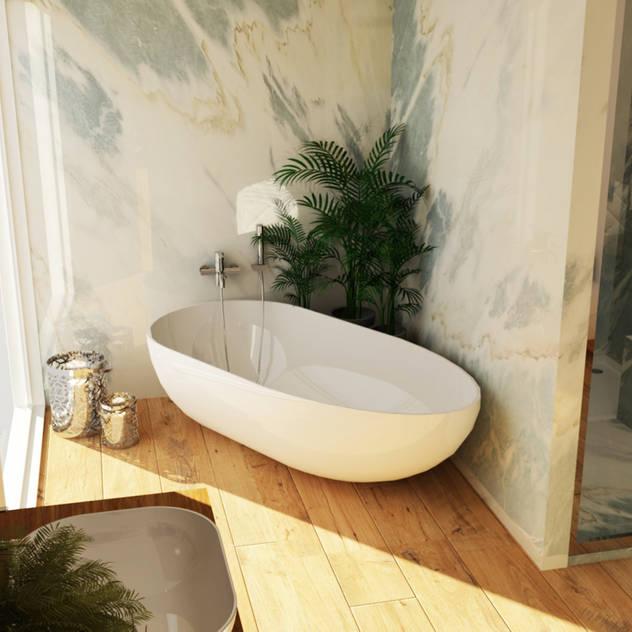 Phòng tắm phong cách hiện đại bởi Smile Bath S.A. Hiện đại