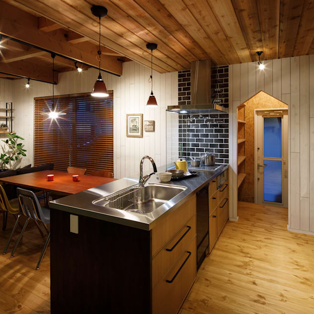 rustic Kitchen by dwarf