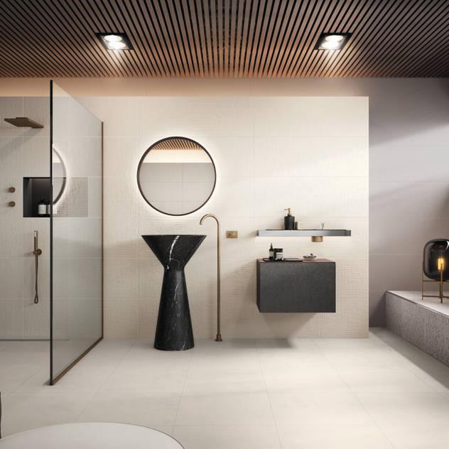 Essentia Phòng tắm bởi Love Tiles Công nghiệp