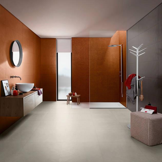 Splash Phòng tắm bởi Love Tiles Công nghiệp